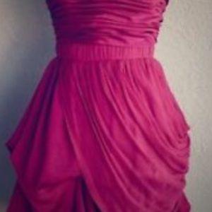 Bebe fuschia mini dress